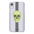 LeighDeux Phone Cases - Skull Luna Stripe Lime/Lavender Phone Case LeighDeux, LLC Premium Glossy Snap Case iPhone XR