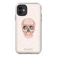 LeighDeux Phone Cases - Skull Tanzania Millennial Phone Case LeighDeux, LLC iPhone 11 Premium Glossy Tough Case