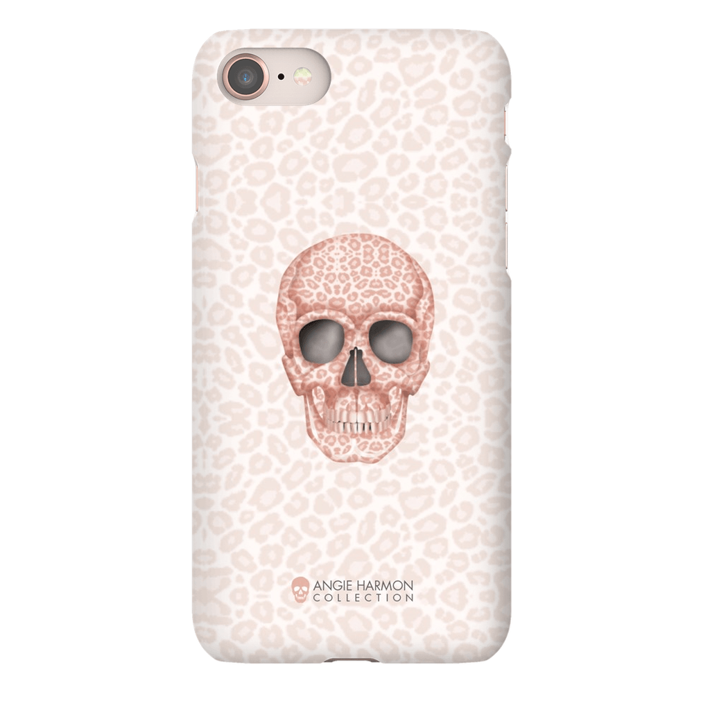 LeighDeux Phone Cases - Skull Tanzania Millennial Phone Case LeighDeux, LLC iPhone 8 Premium Glossy Snap Case