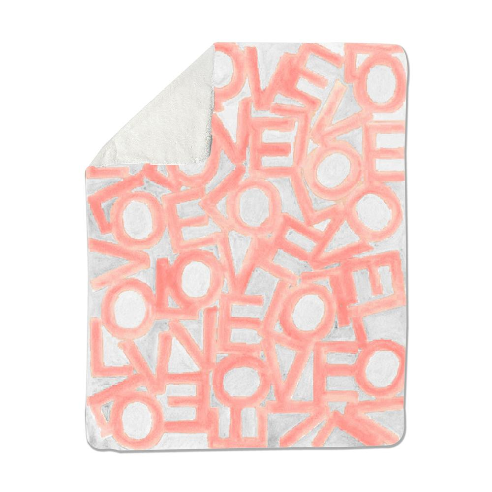 Love Link - Blush/Gray - Loveleigh Blanket Shop All MWW