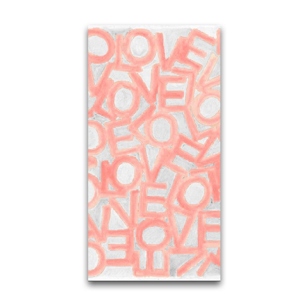 Love Link - Blush/Gray - Resort Towel MWW