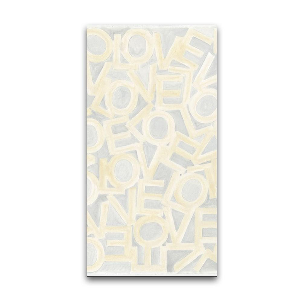 Love Link - Gray/Cream - Resort Towel MWW