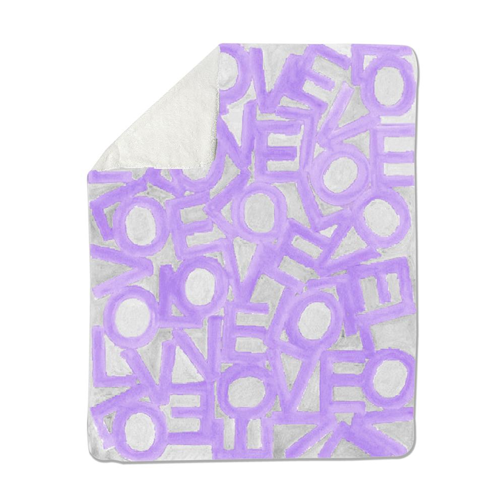 Love Link - Lavender/Gray - Loveleigh Blanket Shop All MWW