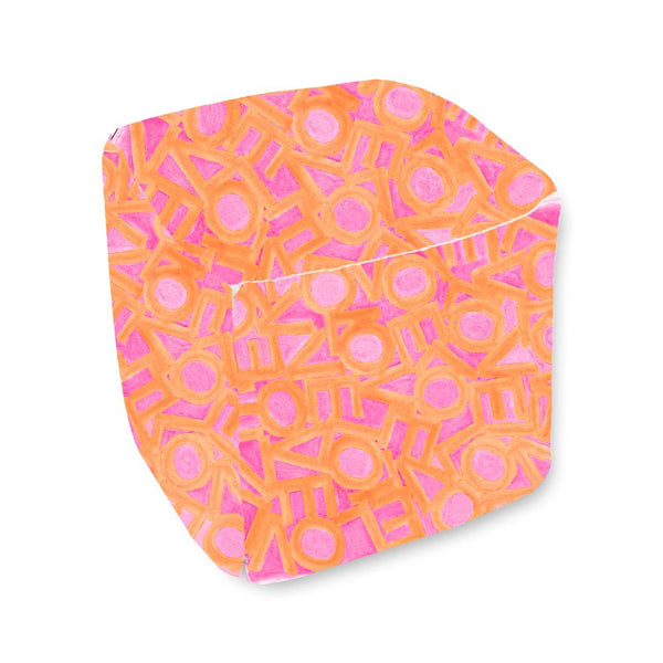 Love Link - Pink/Orange - Bean Bag Cube Shop All MWW