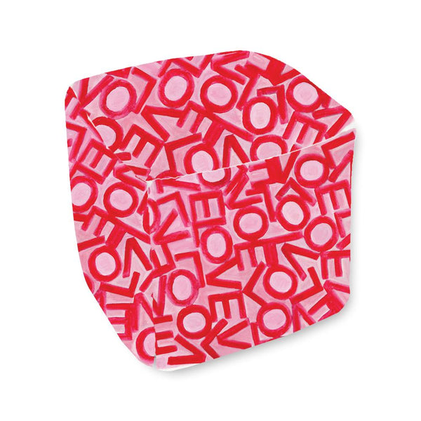 Love Link - Pink/Red - Bean Bag Cube Shop All MWW