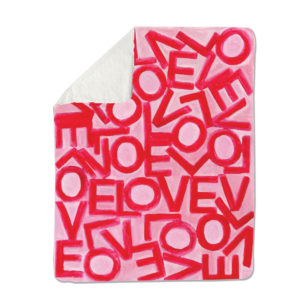 Love Link - Pink/Red - Loveleigh Blanket Shop All MWW