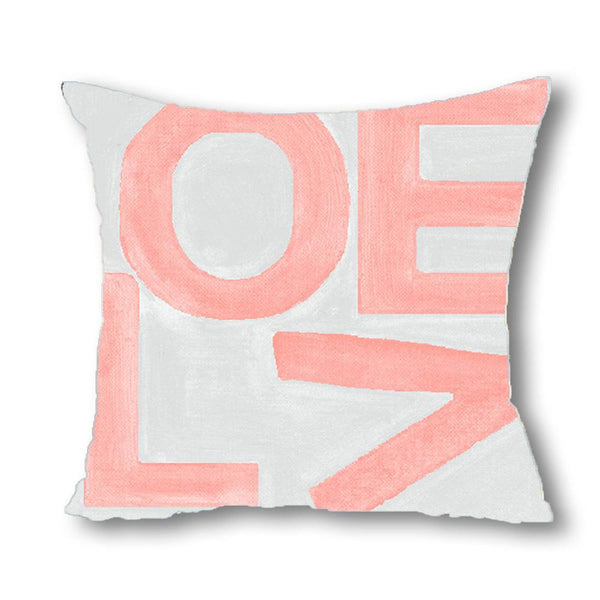 Love Stack - Blush/Gray - Euro/Floor Pillow Shop All MWW