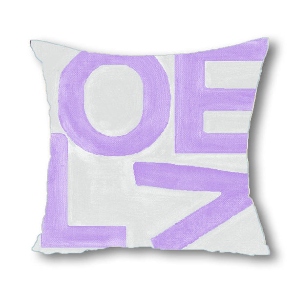 Love Stack - Lavender/Gray - Euro/Floor Pillow Shop All MWW