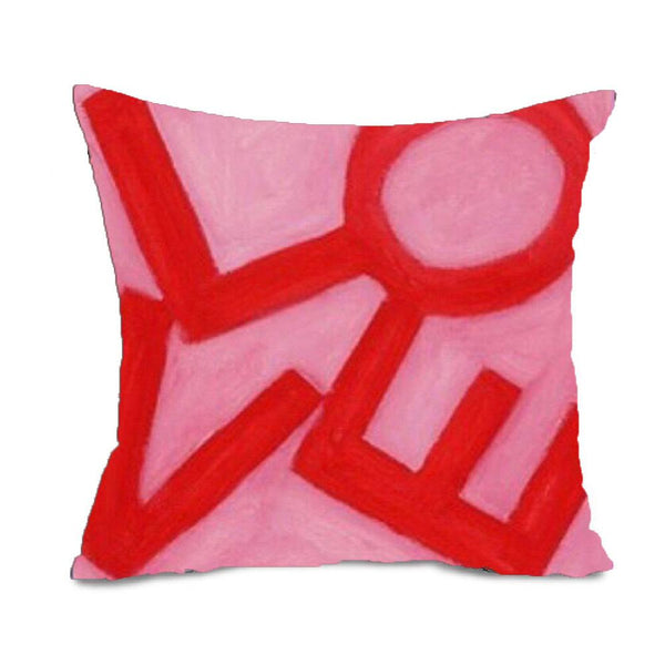 Love Stack - Pink/Red - Euro/Floor Pillow Shop All MWW