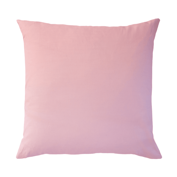 Signature Pink Linen Cotton Pillow LAURAPARK 26x26