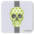 Skull Coasters by Angie Harmon - Luna Stripe LeighDeux, LLC