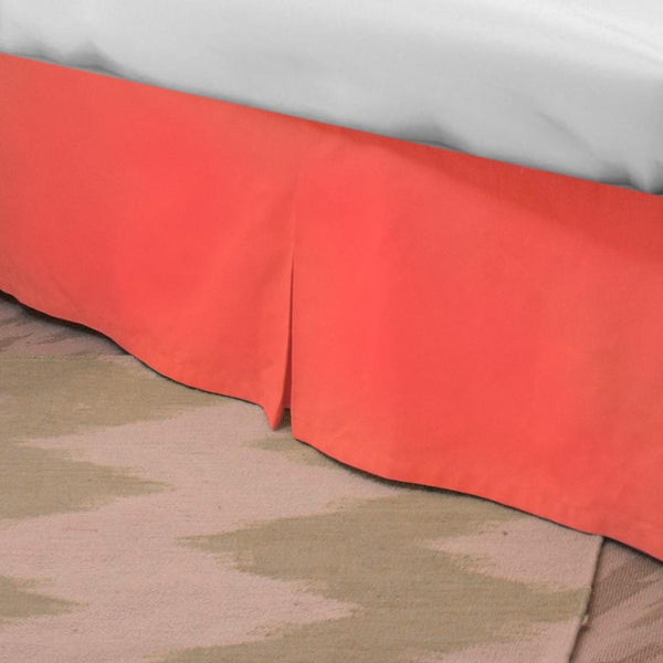 Standard Bed Skirt - Coral Shop All,Bedding Collections,Last Call SALE Springs Twin XL