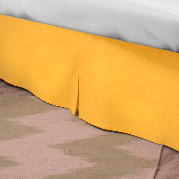 Standard Bed Skirt - Corn Yellow Shop All,Bedding Collections,Last Call SALE Springs Twin XL