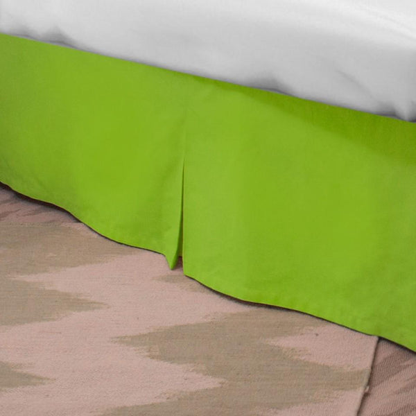 Standard Bed Skirt - Lime Last Call SALE,Shop All,Bedding Collections Springs Twin XL