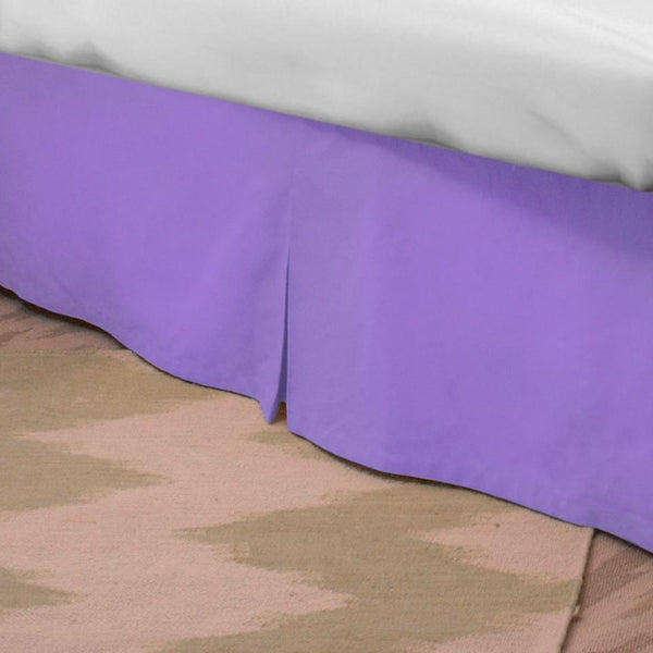 Standard Bed Skirt - Thistle Purple Last Call SALE,Shop All,Bedding Collections Springs Twin XL