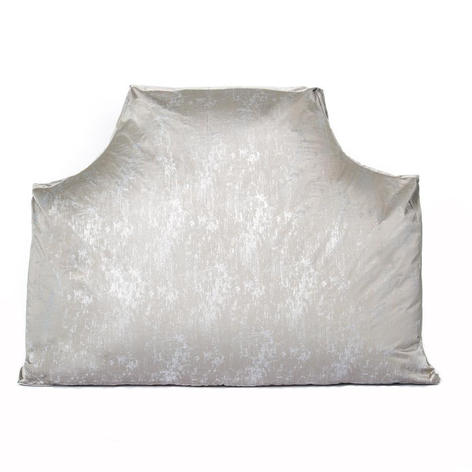 The Headboard Pillow® - Beverly Hills Silver Metallic Shop All,Bedding Collections,The Headboard Pillow LeighDeux Twin XL