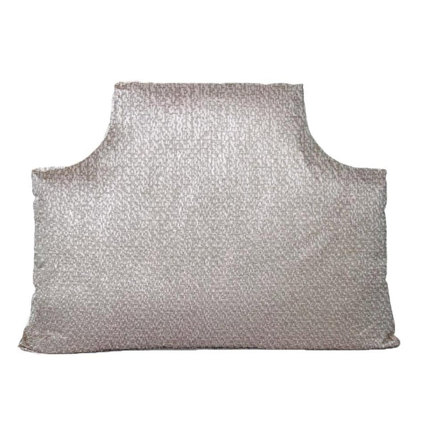 The Headboard Pillow® - Hollywood Silver Metallic Shop All,Bedding Collections,The Headboard Pillow LeighDeux Twin XL