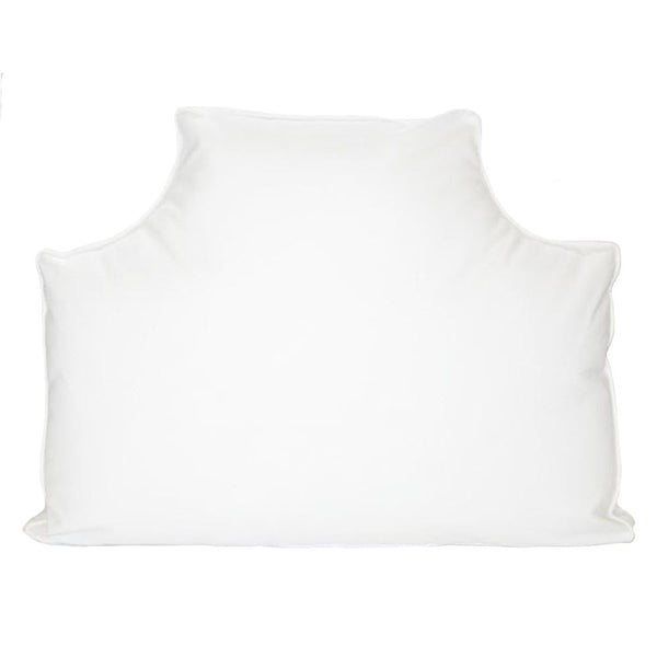 The Headboard Pillow® - White Ostrich Plush Velvet Shop All,The Headboard Pillow LeighDeux Twin XL