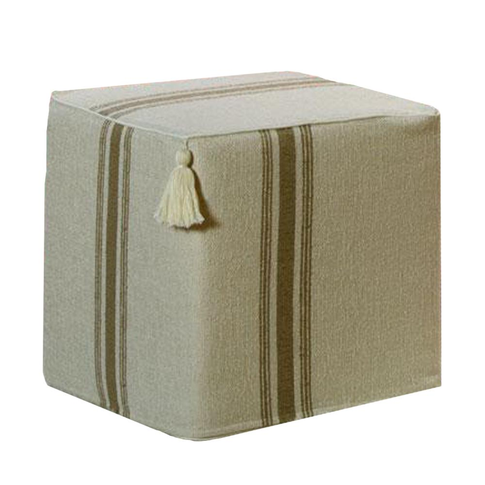 The Sahara Cube - Neutral 3 Stripe Shop All,Bedding Collections,Last Call SALE LeighDeux