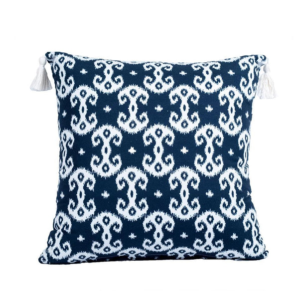 Throw Pillow - Bronwyn Navy Shop All,Bedding Collections,Last Call SALE Springs