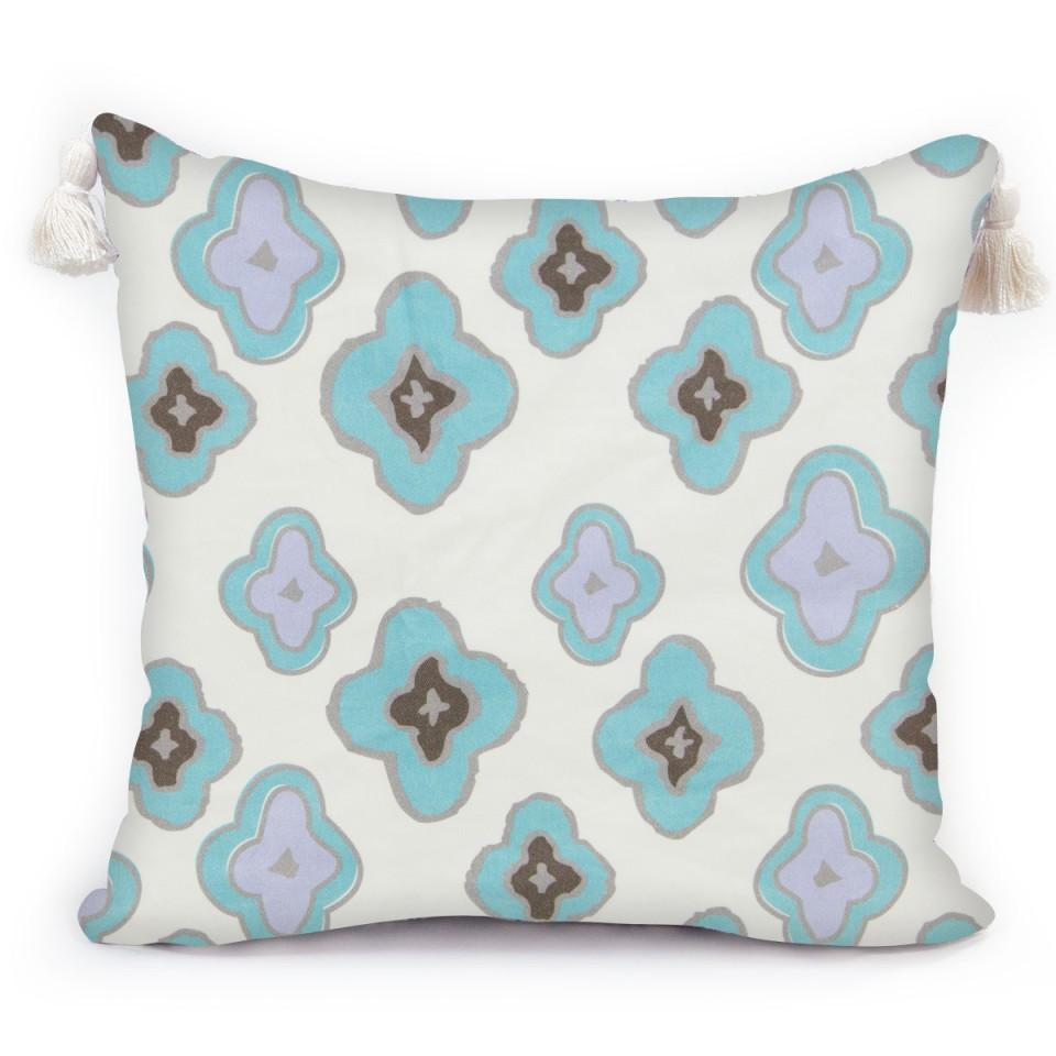 Throw Pillow - Dixon Aqua Shop All,Bedding Collections,Last Call SALE Springs