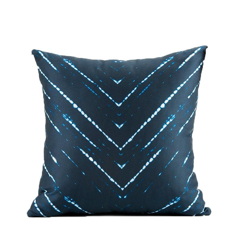 Throw Pillow - Mariko Indigo Shop All,Bedding Collections MWW