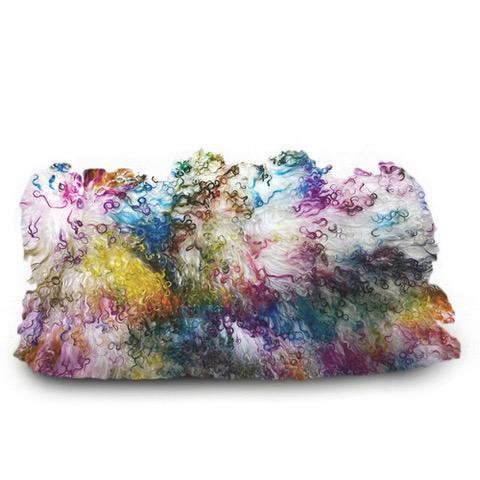 Throw Pillow - Tibetan Confetti LeighDeux, LLC