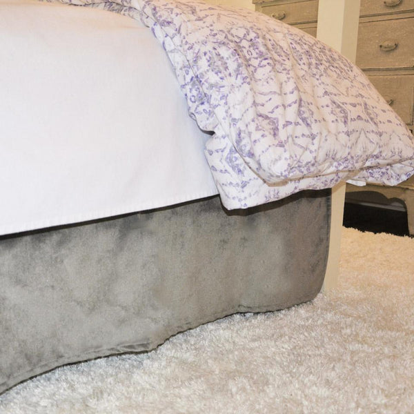 Velvet Curtain Call Bed Skirt - Dolphin Shop All,Bedding Collections,Last Call SALE Springs