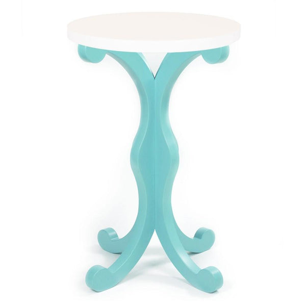Whimsical Side Table - Aqua Shop All,Bedding Collections YESSICAS