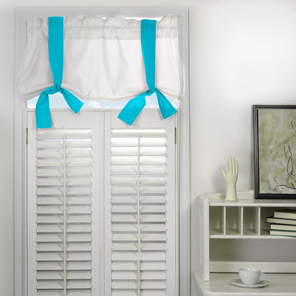 Window Valance - Aqua Shop All,Last Call SALE,Bedding Collections Springs