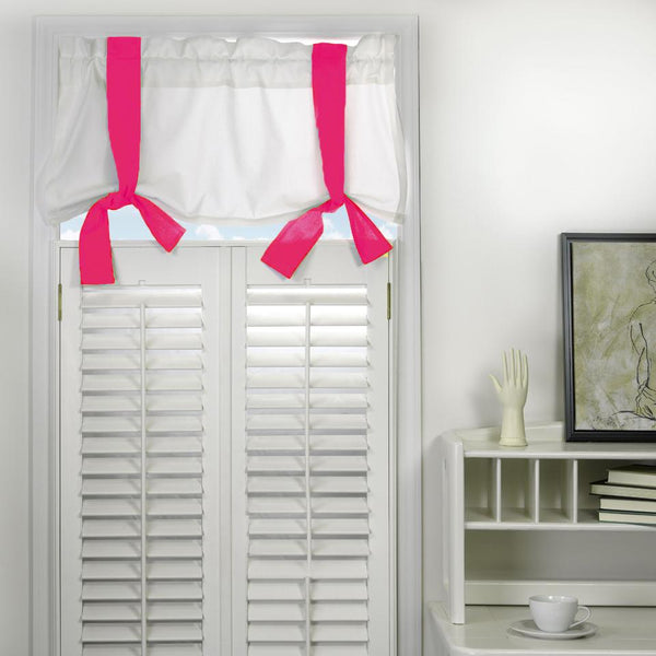 Window Valance - Candy Pink Shop All,Last Call SALE,Bedding Collections Springs