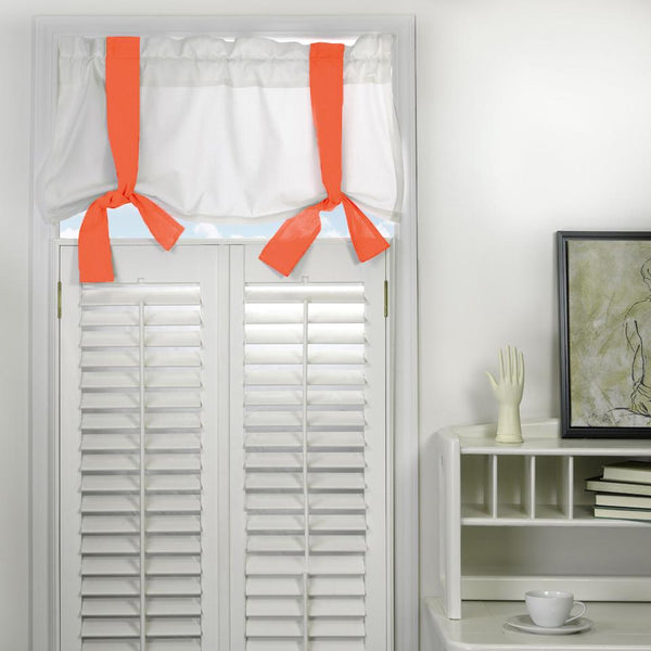 Window Valance - Coral Shop All,Last Call SALE,Bedding Collections Springs