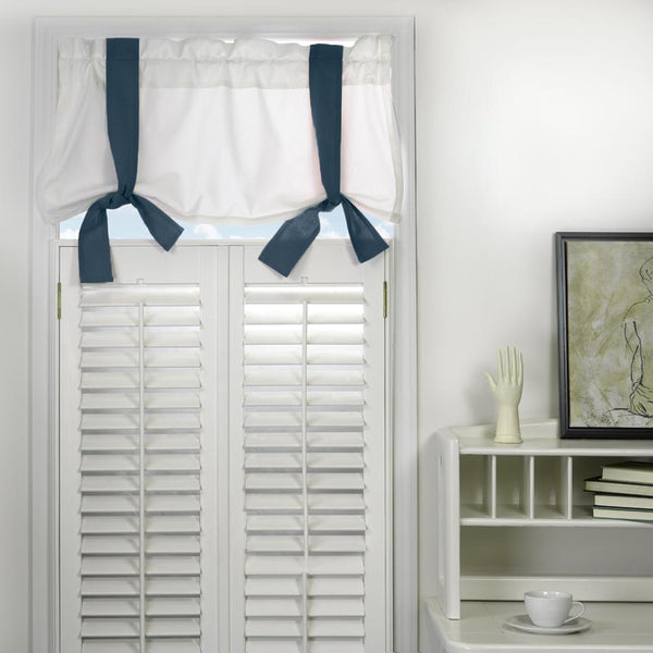 Window Valance - Navy Shop All,Last Call SALE,Bedding Collections Springs