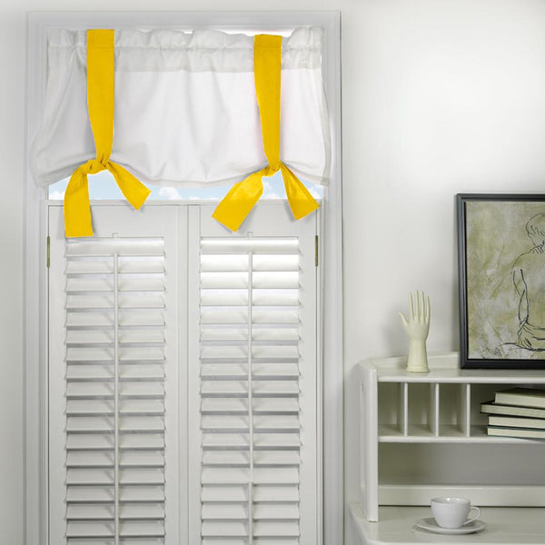 Window Valance - Yellow Shop All,Last Call SALE,Bedding Collections Springs