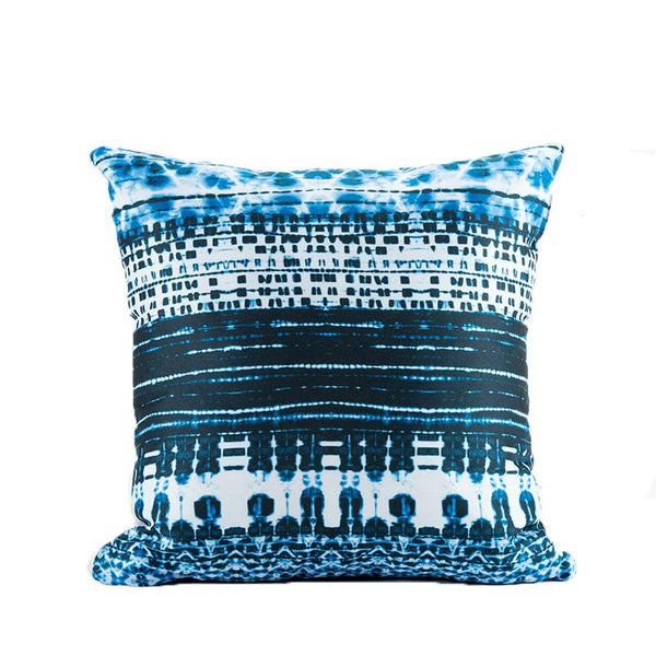 Yoshi Indigo Throw Pillow Shop All,Bedding Collections MWW