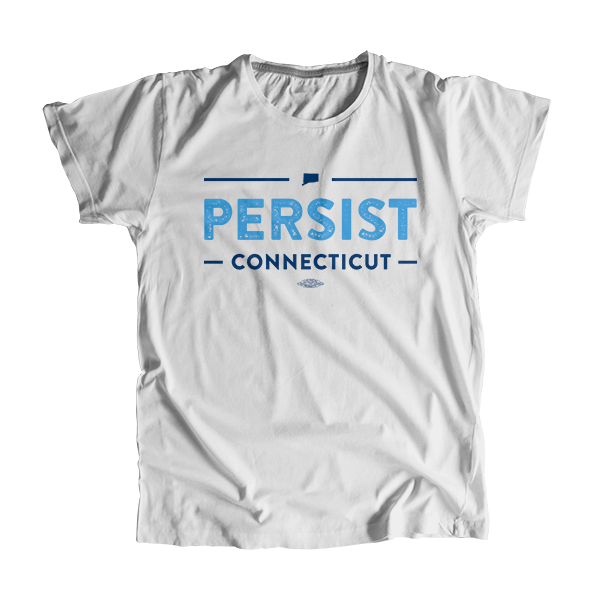 Persist Connecticut Unisex T-shirt (1396268892269)