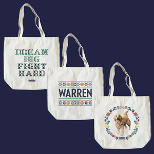Composite image of all three cross stitch tote designs.  (4407646486637)