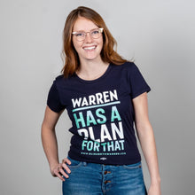 Load image into Gallery viewer, Warren Has a Plan For That Fitted Shirt on Model. (1623880433773)