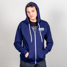 Load image into Gallery viewer, Dream Big, Fight Hard Hoodie on model.