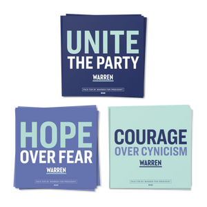 Hope, Courage, and Unity Sticker 3-Pack (4514726707309)