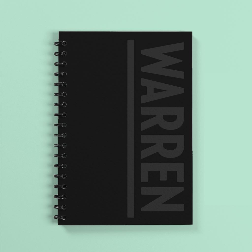 Warren Notebook