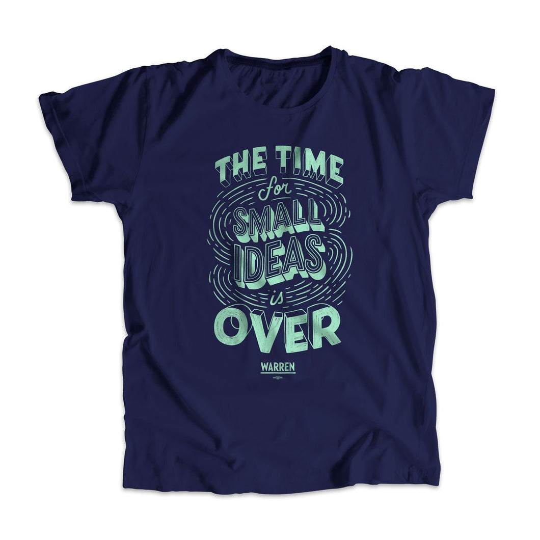 A navy unisex t-shirt with