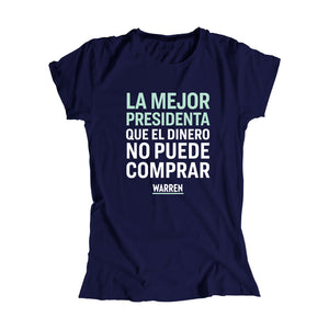 La Mejor Presidenta Que El Dinero No Puede Comprar - Camiseta Ajustada | The Best President Money Can't Buy Fitted T-Shirt