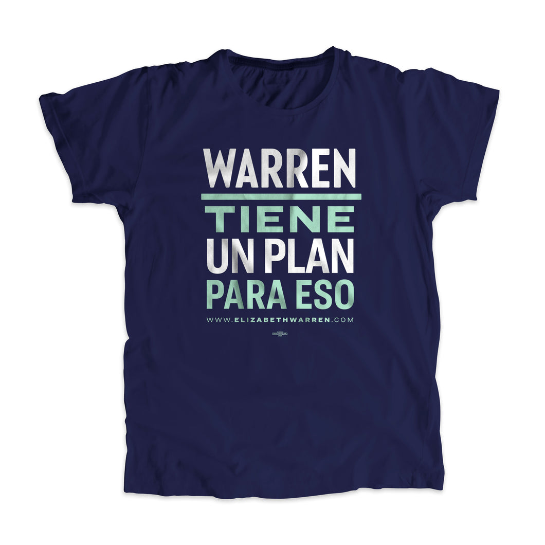 Warren Tiene Un Plan Para Eso - Camiseta Unisexo | Warren Has a Plan For That Unisex T-Shirt (4284393488493)