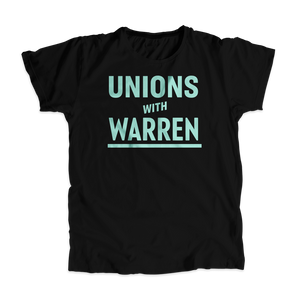 Unions with Warren Unisex T-Shirt (4516263297133)
