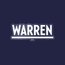Load image into Gallery viewer, White Warren Vinyl Die-Cut Sticker. (4284231188589)