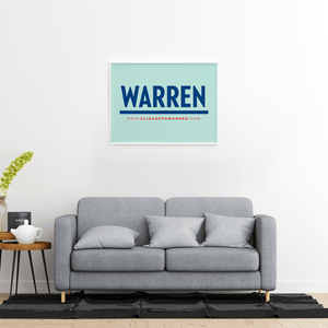 Liberty Green poster with a Navy Warren logo in the center. (4029077684333)