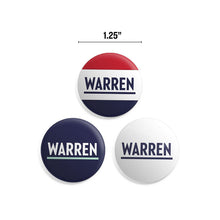 "Load image into Gallery viewer, Warren 1.25"" Button Pack"