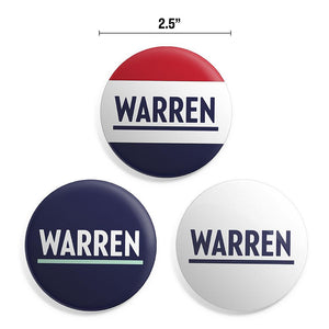 "Warren 2.5""  Button Pack (3928570921069)"