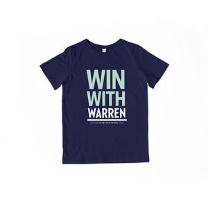 Win With Warren Youth T-shirt